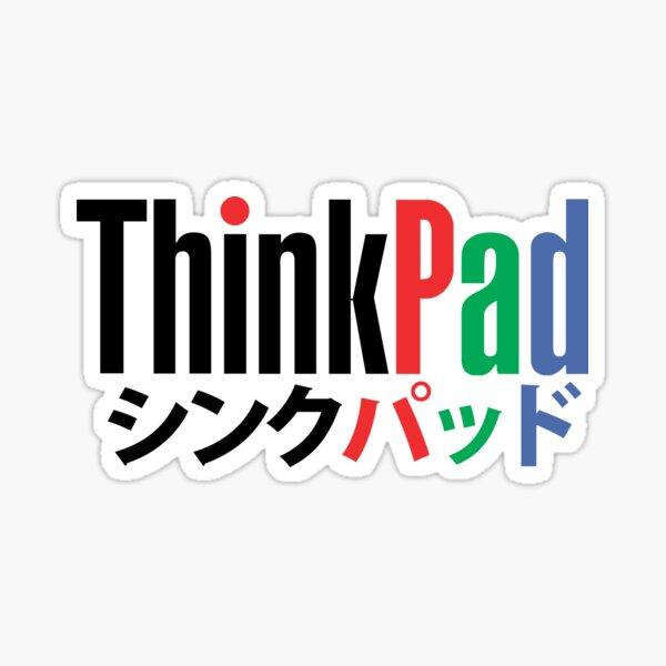 thinkpad logo stickers redbubble redbubble