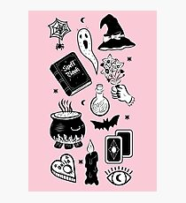 Witchy Woes Photographic Print