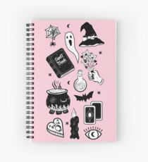 Witchy Woes Spiral Notebook