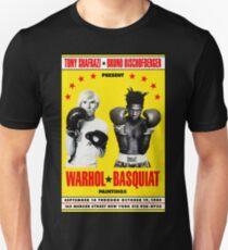 Basquiat Warhol Poster Unisex T-Shirt
