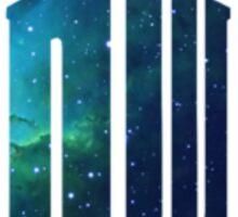 Galactic Doctor Who Logo Sticker