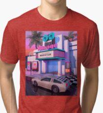 Camiseta de tejido mixto Cine de los 80