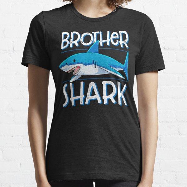Brother Shark Tshirt Family Matching Men Boys Jawsome Regalos Camiseta esencial