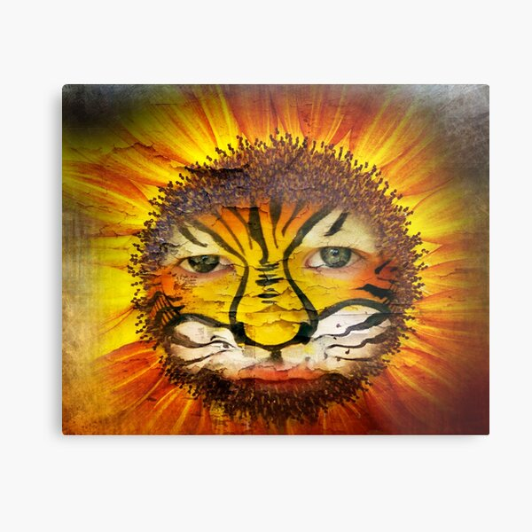 Tigerboy Sunshine Metal Print