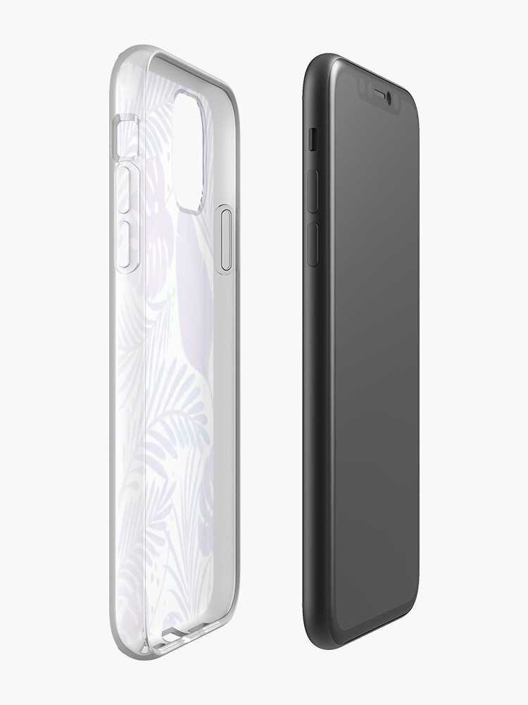 Coque iPhone «Purple Jungle Design», par StylishTayla
