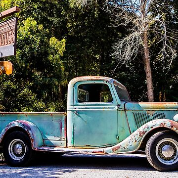 Old American Truck by Tonywallbank
