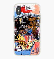 Vinilo o funda para iPhone Cartel del cráneo de Basquiat