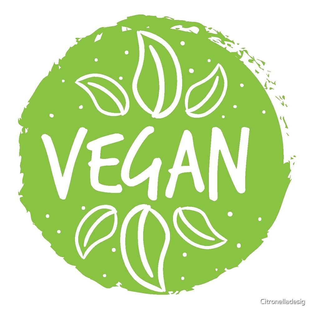 Vegan  by Citronelladesig