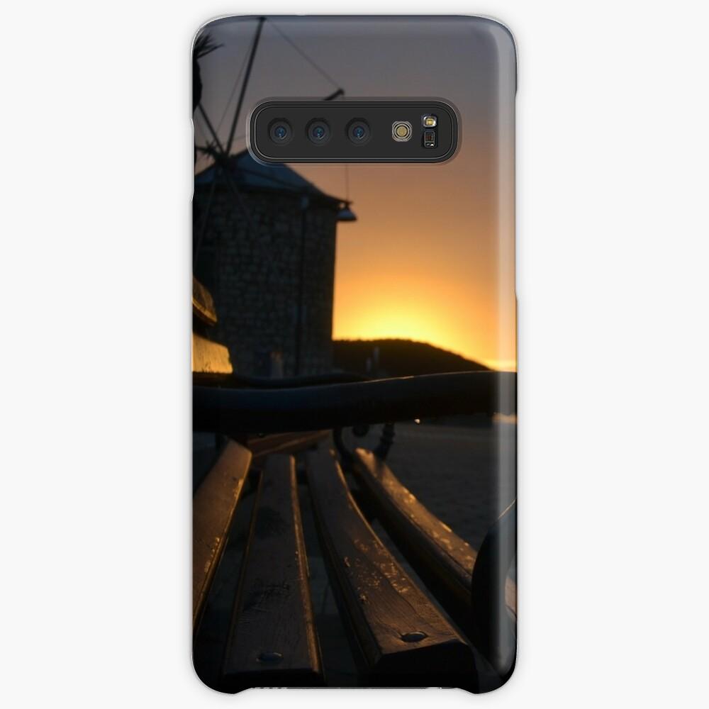 Sunset in Croatia Hülle & Klebefolie für Samsung Galaxy