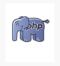 PHP ElePHPant Logo Photographic Print