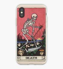 Vinilo o funda para iPhone caso de muerte Tarot