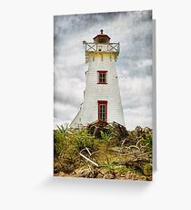 North Rustico Lighthouse, PEI Greeting Card
