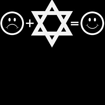 Hanukkah Chanukah Being Jewish Equals Happy by shoppzee