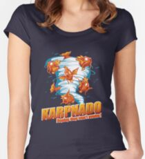 KARPNADO! (hoping they won't evolve…) Fitted Scoop T-Shirt