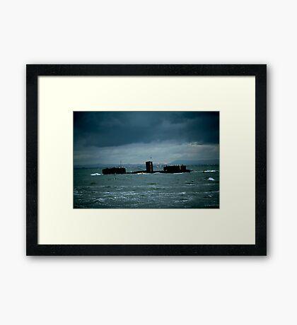 Cerberus Framed Print