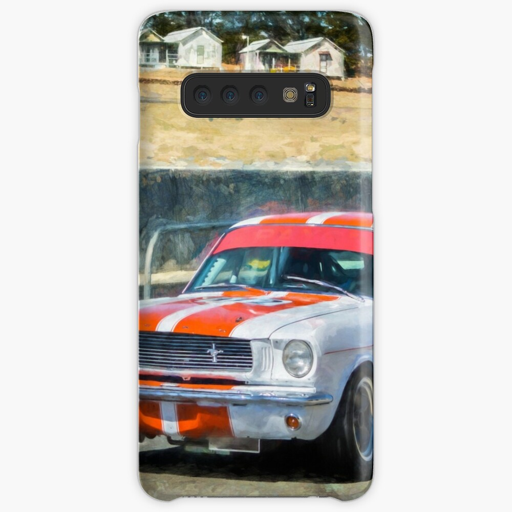 White Group N Mustang Cases & Skins for Samsung Galaxy