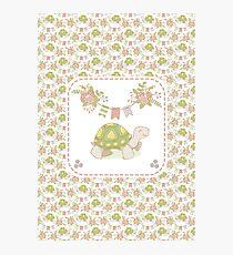 Little Tortoise Photographic Print