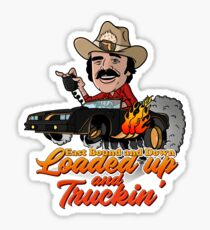 Loaded up and Truckin´ Sticker