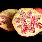 pomegranite open by Anna D'Accione