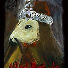 Rat Rodent Dracula Vampire Gothic Art Print! by CheekyEvil