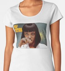 Mia Wallace - Pulp Fiction One Women's Premium T-Shirt