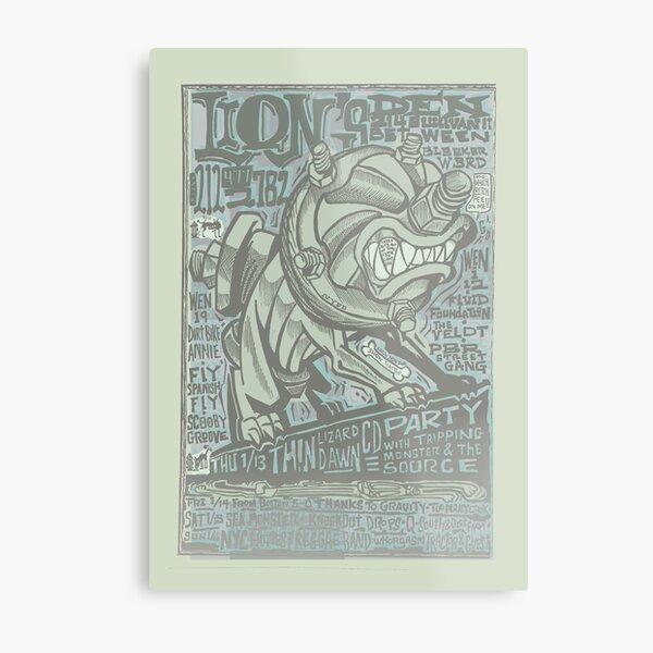 lion's den flyer Metal Print