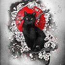 I am a cat by marineloup-art