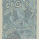 cbgb flyer by chung-deh tien