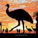 Australian Sunsets - Emu by iancoate