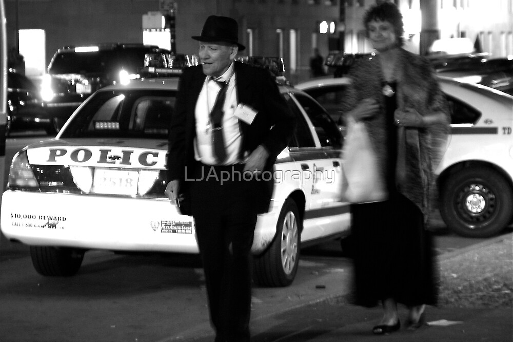 Dick Tracy New York-fine art print NYC by LJAphotography