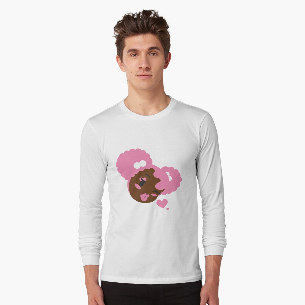 Pink Puffs and Kisses Long Sleeve T-Shirt