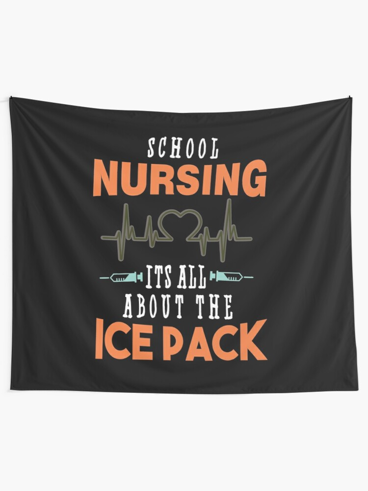 Hoodie School Nursing Its All About The Ice Pack Funny School Nurse Gift