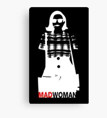 Mad Woman Canvas Print