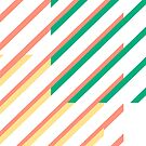 Calypso Stripes by wallpaperfiles