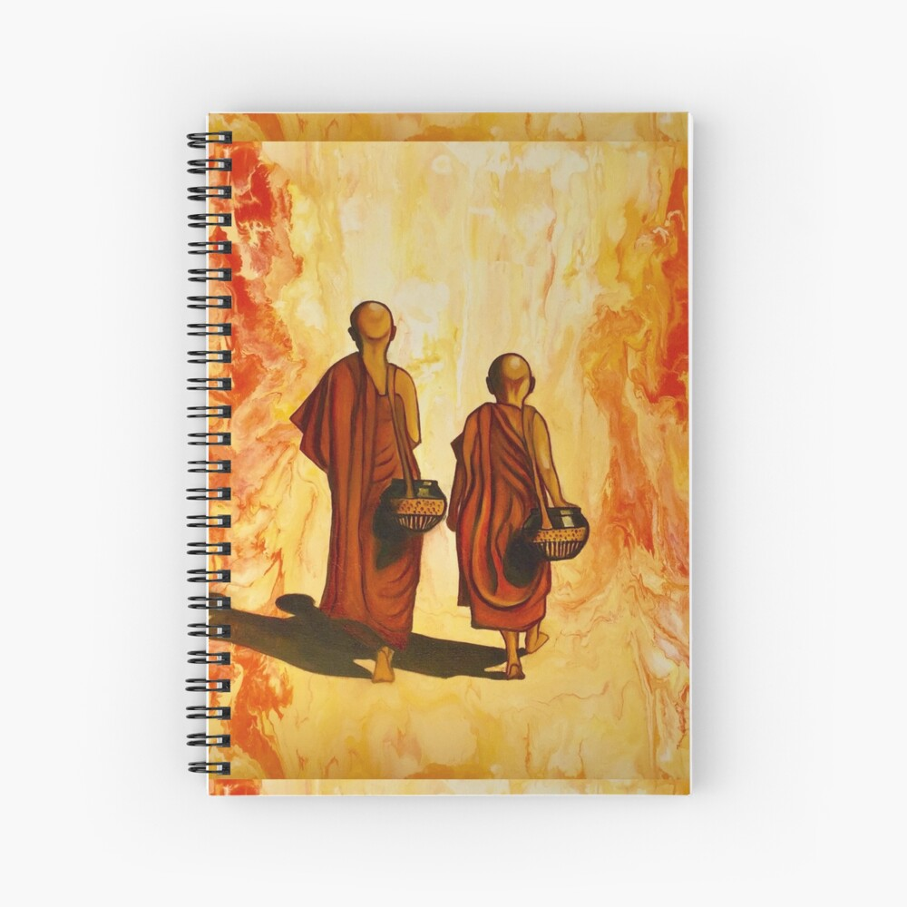 Alone Yet Together  Spiral Notebook