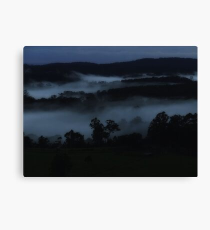 """Midnight Blue"" Canvas Print"