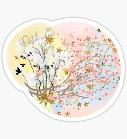 A Touch of Spring Sticker