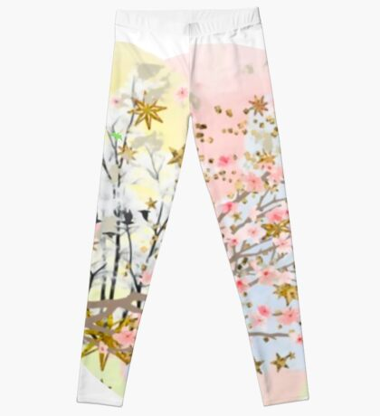 A Touch of Spring Leggings