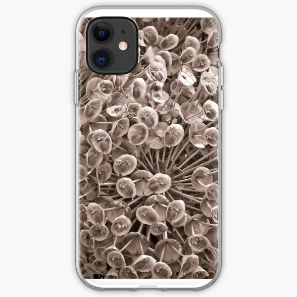 Sepia Nature Pattern iPhone Soft Case