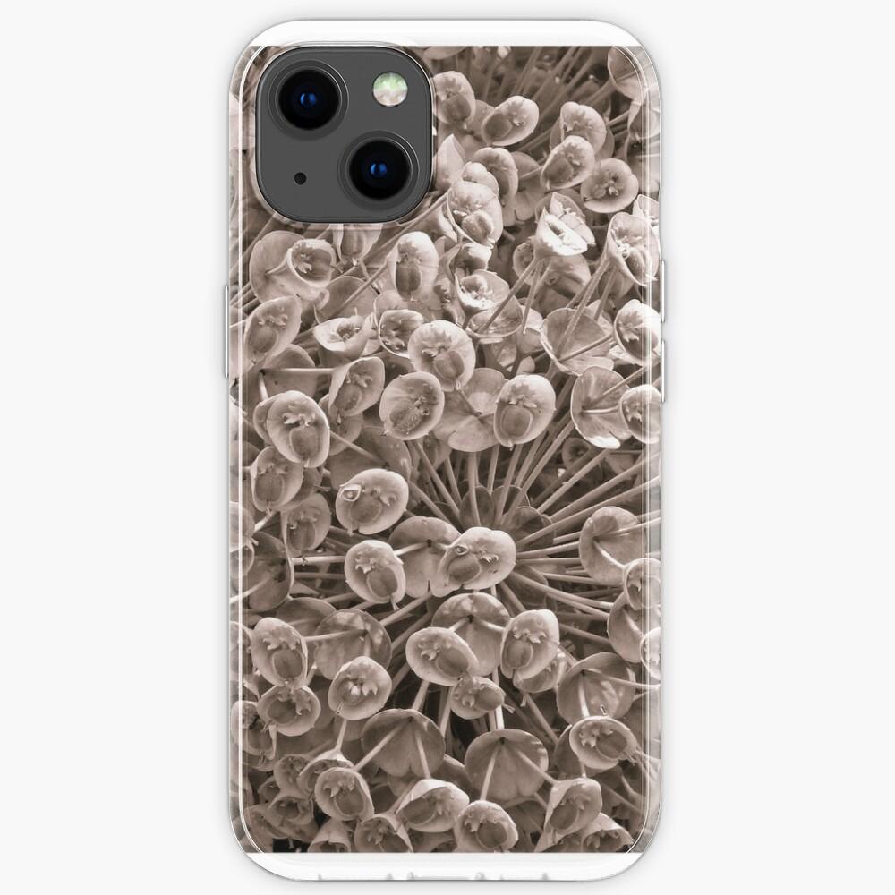 Sepia Nature Pattern iPhone Case