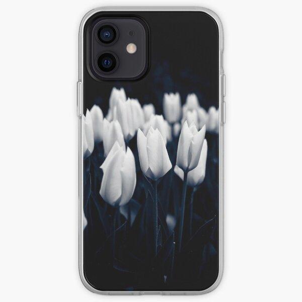 Monochrome Tulips iPhone Soft Case