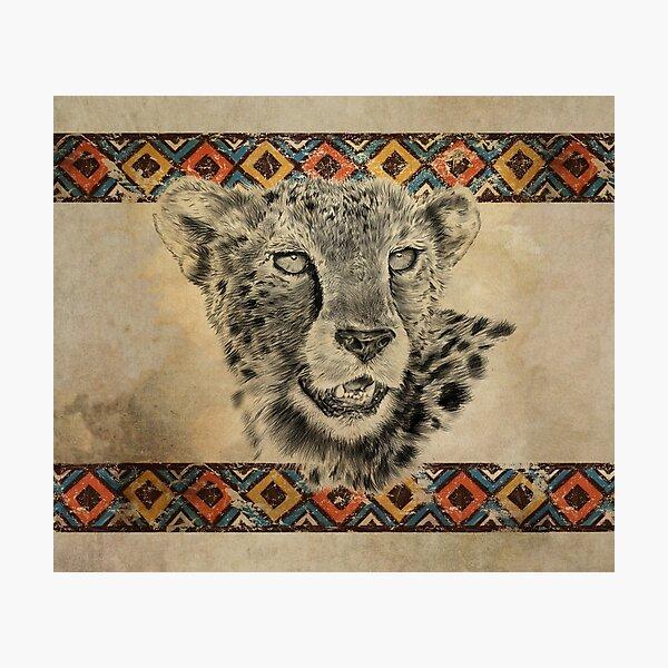Serengeti Cheetah Photographic Print