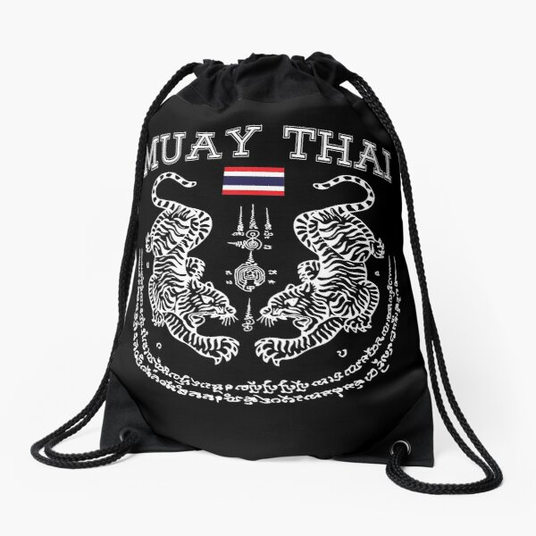 Muay Thai Men Kickboxing Men Women Kid - Toi Muay Thailand Drawstring Bag