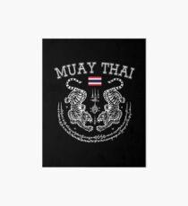 Lámina de exposición Muay Thai Men Kickboxing Hombres Mujeres Niños - Toi Muay Thailand