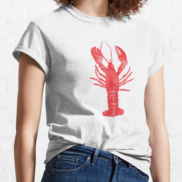 Watercolor Lobster Classic T-Shirt