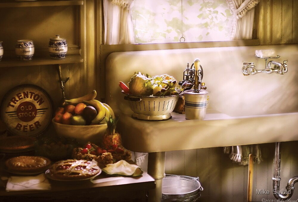 A 1930's Kitchen  by Mike  Savad