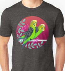 Wild Australian Budgerigars Unisex T-Shirt