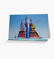 Water Castle Greeting Card