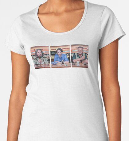Lebowski Triptych Women's Premium T-Shirt
