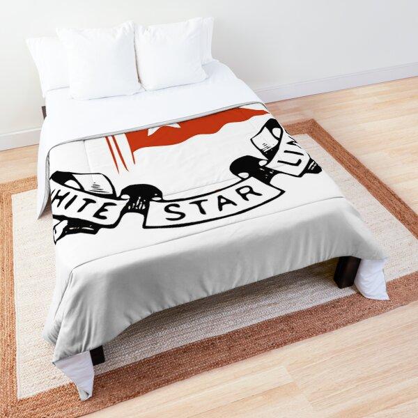 White Star Line, Logo. Titanic. Comforter